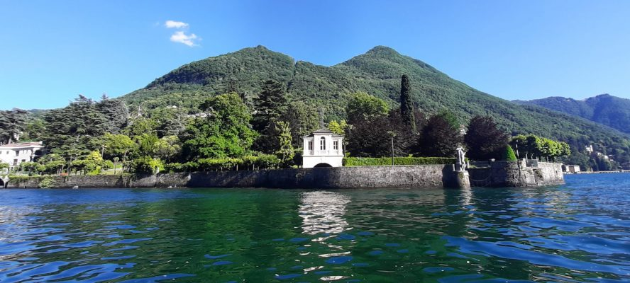 Villas faced on Como Lake ville sul Lago di Como