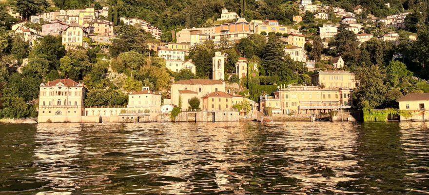 View from Como Lake vista dal Lago di Como