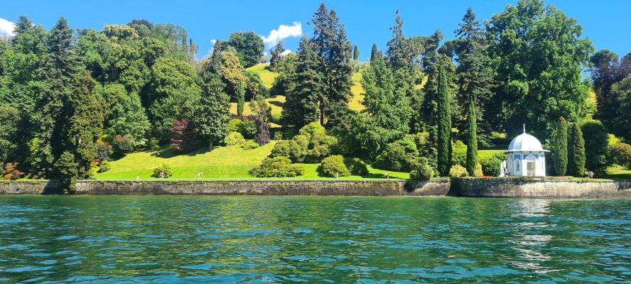 Como Lake gardens giardini sul lago di Como
